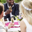 Friends Proposing Champagne Toast — Stock Photo #48301749