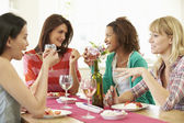 Group Of Women Eating Dessert — Foto de Stock