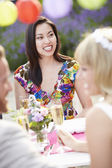Female Guest At Wedding — Stock Photo