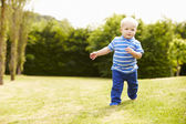 Young Boy Playing — Stock Photo