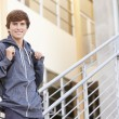 Male High School Student — Stock Photo #48460175