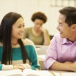 Female High School Student With Teacher — Stock Photo #48460311
