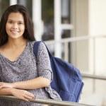 Female High School Student — Stock Photo