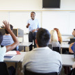 Male Tutor Teaching University Students In Classroom — Stock Photo #48462765