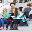 Group Of High School Students — Stock Photo #48463597