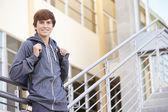 Male High School Student — Stock Photo