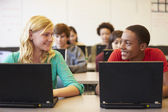 High School Students In Class — Stock Photo