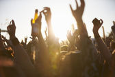 Outdoor Music Festival — Stock Photo