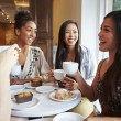 Friends Meeting In Cafe Restaurant — Stock Photo #50476595