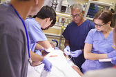 Medical Team Working — Stock Photo