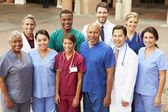 Outdoor Portrait Of Medical Team — Stockfoto