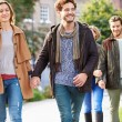 Group Of Friends Walking — Stock Photo #50697811