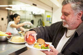 Food In Homeless Shelter — Stock Photo