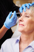 Woman Having Botox Treatment — Stock fotografie