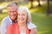 Mature Romantic Couple — Stock Photo