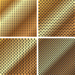 A set of metal grille 3 — Image vectorielle