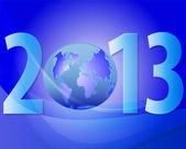 New Year 2013 — Stockvector