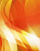 Fondo naranja abstracto 4 — Vector de stock