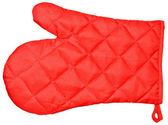 Kitchen red mitten — Stock Photo