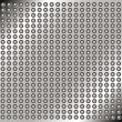 Abstract metal background with rivets — Imagen vectorial