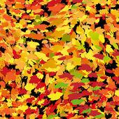 Sömlös hösten bakgrund — Stockvektor