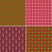 组无缝模式 9 — 图库矢量图片