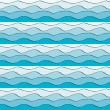 Seamless wavy pattern — 图库矢量图片