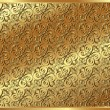 Gold background with a pattern - Image vectorielle