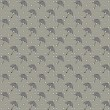 Seamless pattern with umbrellas and drops - Stockvektor