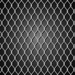 Background with metal grid — Stok Vektör