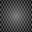 Background with metal grid - Vektorgrafik
