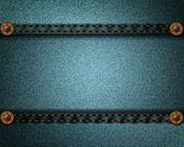 Džíny realistické textury — Stock vektor