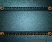 Textura realista jeans — Vector de stock