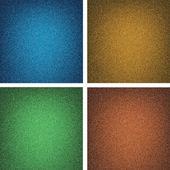 Conjunto de textura de los pantalones vaqueros — Vector de stock