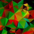 Abstract background polygon - Vettoriali Stock
