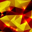 Bright abstract background polygon — ストックベクタ