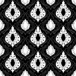 Seamless monochrome pattern 14 — Stock vektor