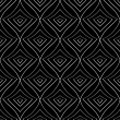 Seamless monochrome pattern 15 — Vettoriali Stock