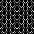 Seamless monochrome pattern 3 — Stock vektor
