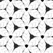 Seamless monochrome pattern 5 — Stock Vector