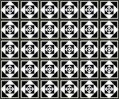 Seamless monochrome pattern 18 — 图库矢量图片