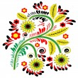 Floral patterned element — Vector de stock #23946429