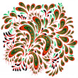 Royalty-Free Stock Векторное изображение: Floral patterned element 2