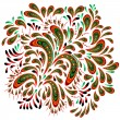 Royalty-Free Stock Vectorafbeeldingen: Floral patterned element 2