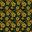 Royalty-Free Stock Vektorgrafik: Seamless floral pattern 3