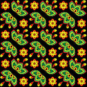 Seamless colorful floral pattern — Stok Vektör