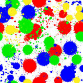 Seamless colored background with multi-colored blots — Stockvektor