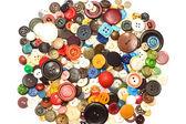 Wielu kolorowych przycisków — Zdjęcie stockowe