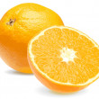 Fresh juicy orange close-up 2 — Stock vektor