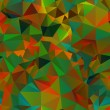 Abstract seamless background of polygons — Vector de stock